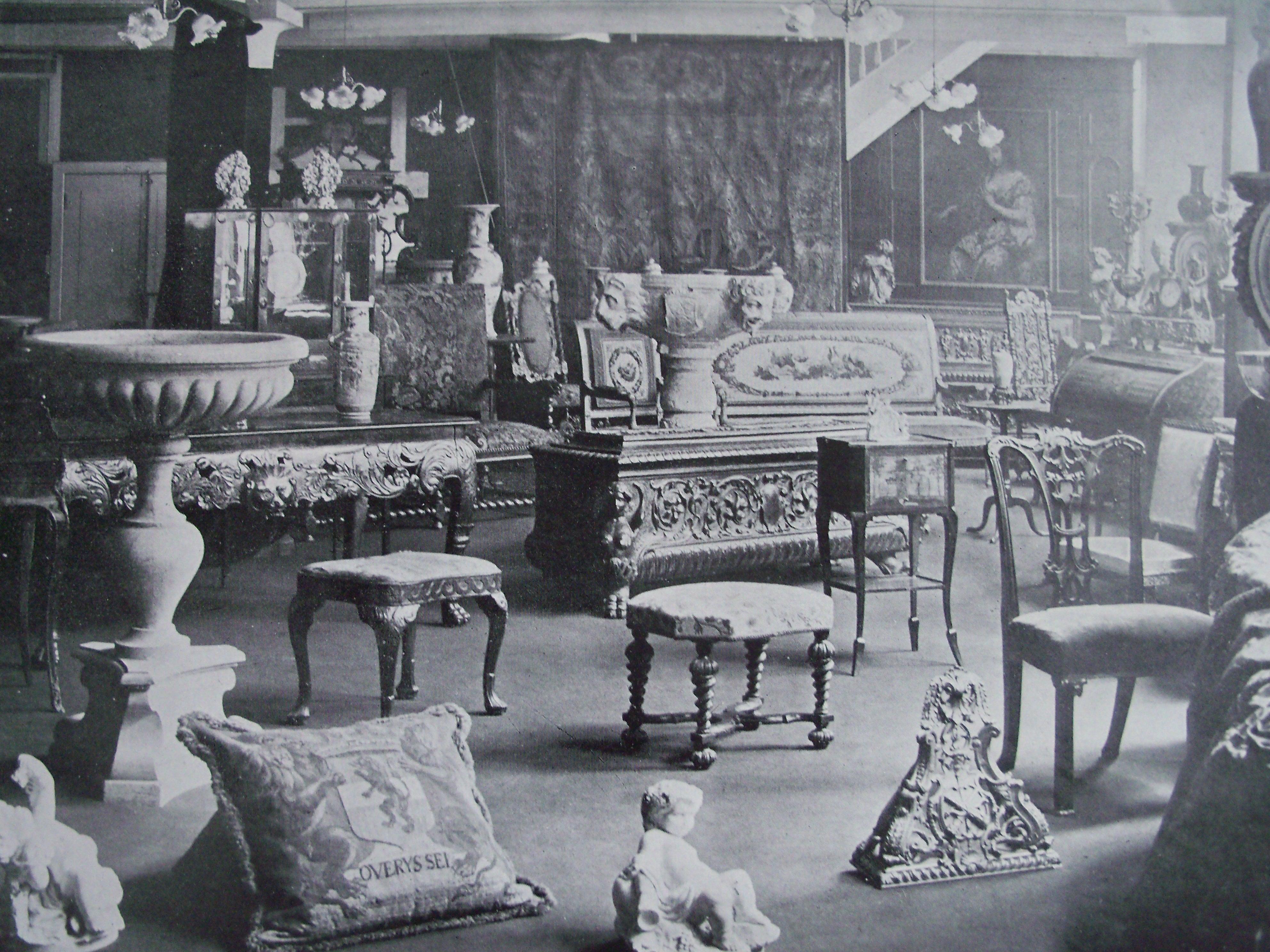 Dealer Shop Interiors Antiquedealersblog