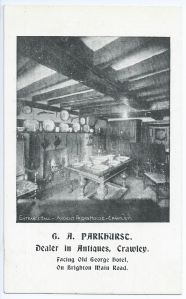 G. A. Parkhurst postcard