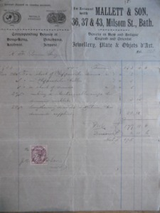 Mallett inv 1901