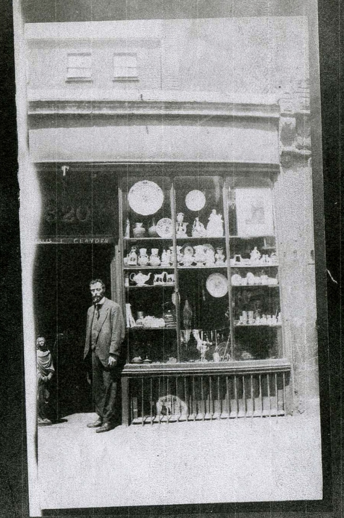 Charles Clayden's Shop - 320 Euston Road