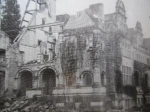 the demolition 1959 view from west