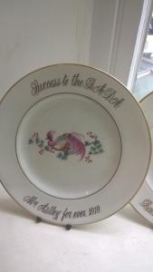 Astley plate 1919