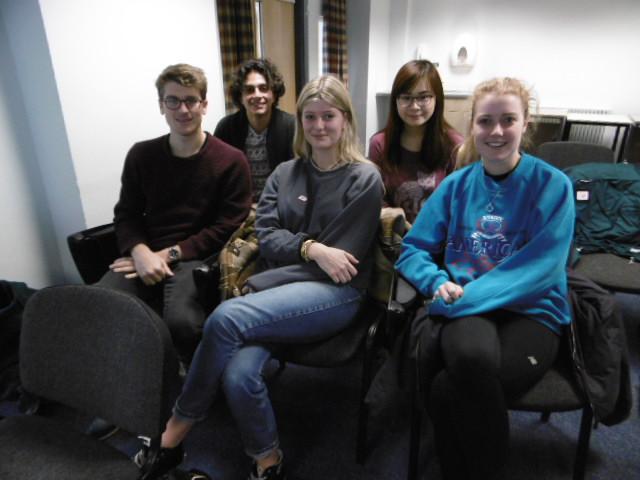 Leeds Uni UG volunteers