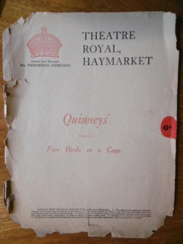 Quninneys 1915 play