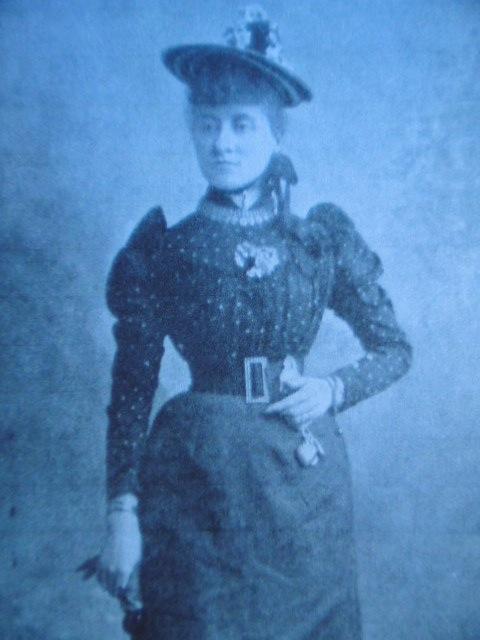 Clara Millard 1894 The Sketch