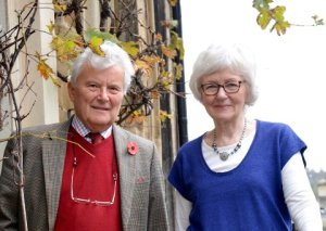 Andrew and Vibeke Jenkins, Avon Antiques.