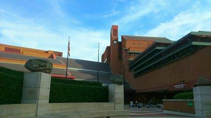 British Library Exterior